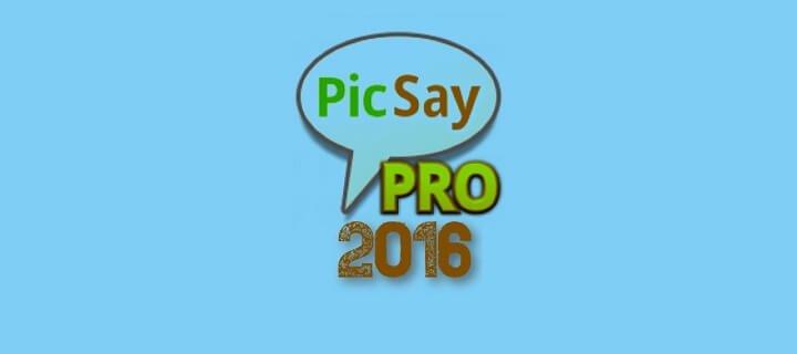 PicSay Pro Versi Lama 2017