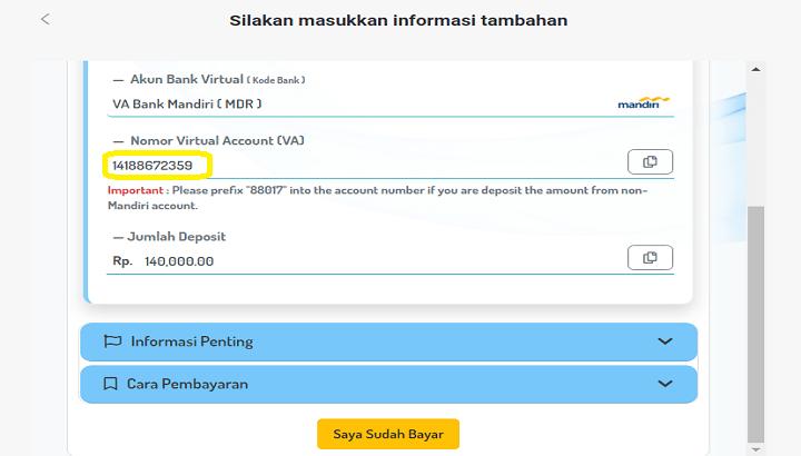 Deposit Binomo Sukses