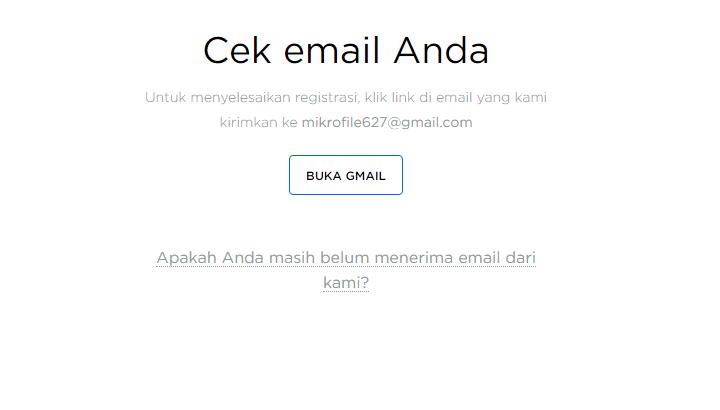 Email Verifikasi OctaFX